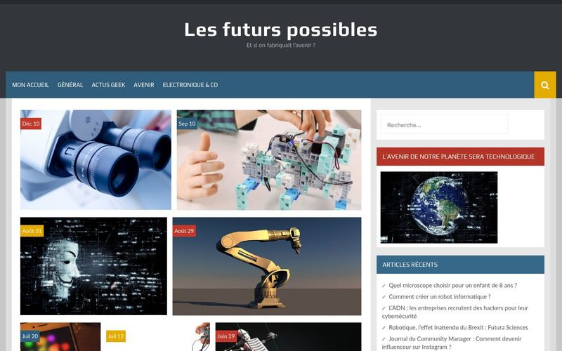 Les futurs possibles - Et si on fabriquait l'avenir ?
